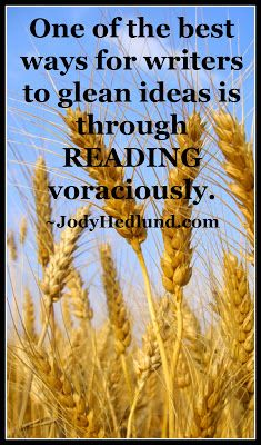 One of the Best Ways to Find Writing Ideas: http://jodyhedlund.blogspot.com/2013/10/one-of-best-ways-to-find-writing-ideas.html