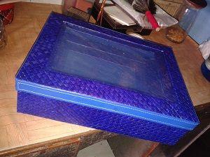 kotak hantaran pandan kerajinan tangan rajapolah  Info lebih lanjut Anda bisa hubungi ke : No hp : 085222308405 PIN BB : 76AA8749