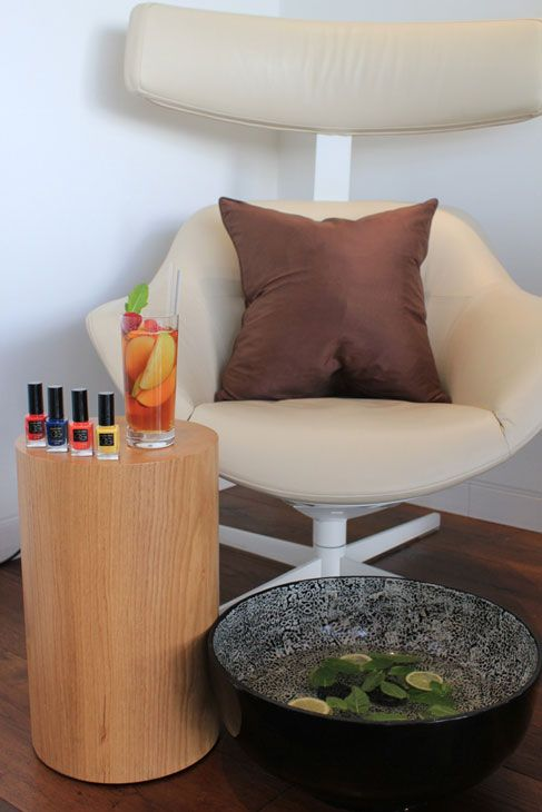 Put a Wimbledon spring in your step with a Pimm's Pedicure from @Four Seasons Hotel London at Park Lane. Soak in a citrus and mint foot bath followed by a strawberry scrub and a minty mask.