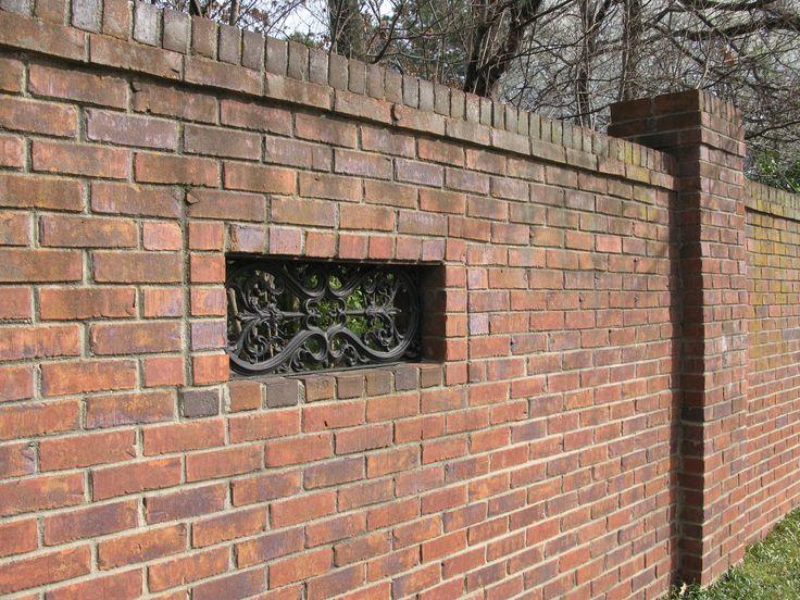 Best 25 Brick Fence Ideas On Pinterest Stone Fence