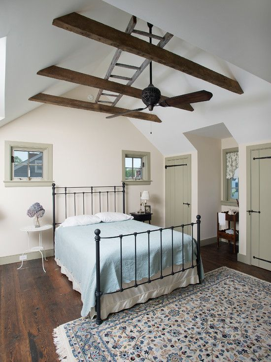 Attic Bedroom Decorating Ideas: 19 Best Images About Slanted Ceiling Bedroom Ideas On