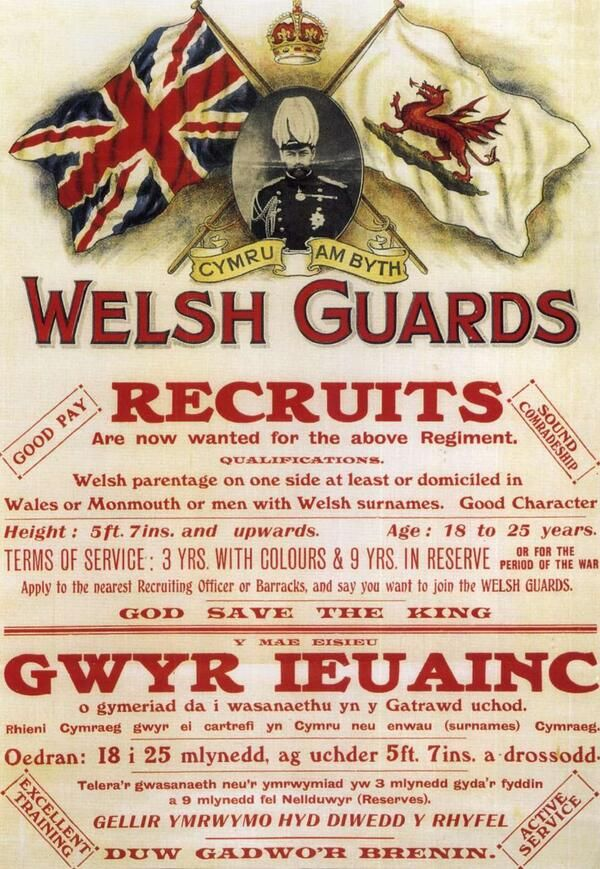 2015 is the centenary of the Welsh Guards - The Welsh Guards were raised this week 1915 by order of King George V. 27 Feb 2014