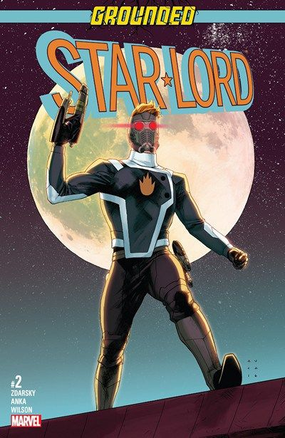 Star-Lord n°2 (18.01.2017) //  Peter Quill has seen all the dangers the galaxy has to offer…but has he ever had to face…COMMUNITY SERVICE???  #star #lord #grounded #marvel #comics