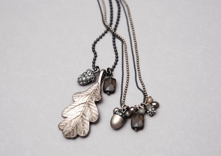 17 best hultquist jewellery images on pinterest acorn for Acorn necklace craft