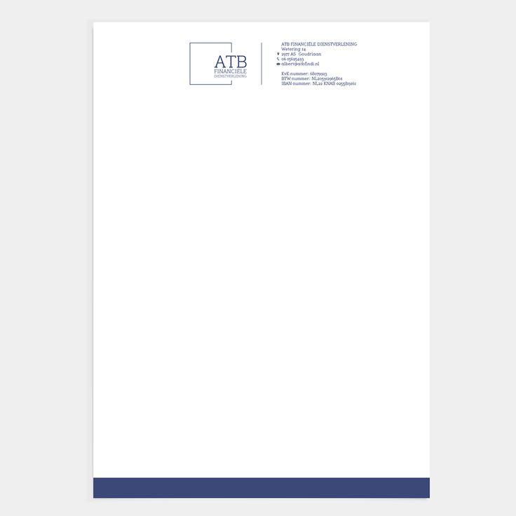 NIEN // Briefpapier huisstijl ATB