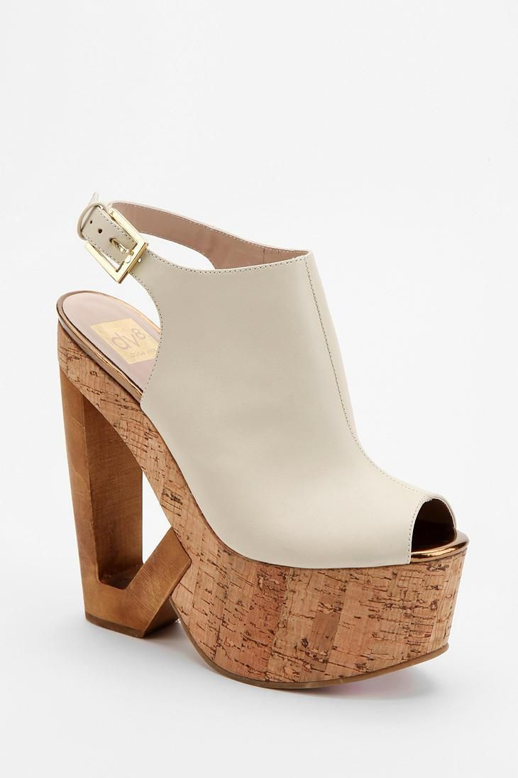 DV8 By Dolce Vita Plank Cutout Platform Wedge #urbanoutfitters