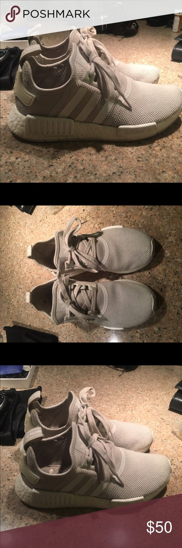 Adidas NMD Adidas classic NMD in cream Adidas Shoes Athletic Shoes