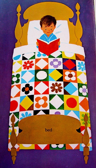 From Words (a Little Golden Book) by Joe Kaufman, 1963