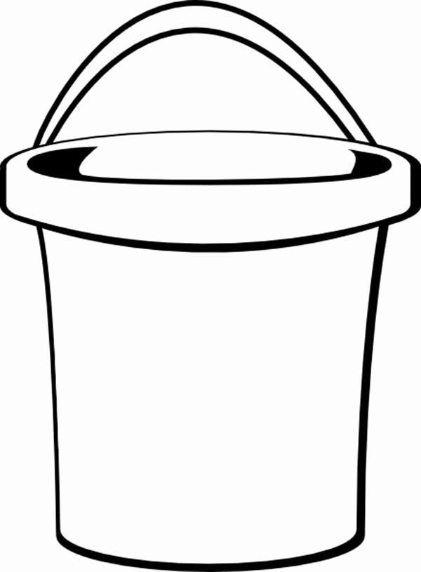 Sand Bucket Coloring Page Google Search Summer Coloring Pages