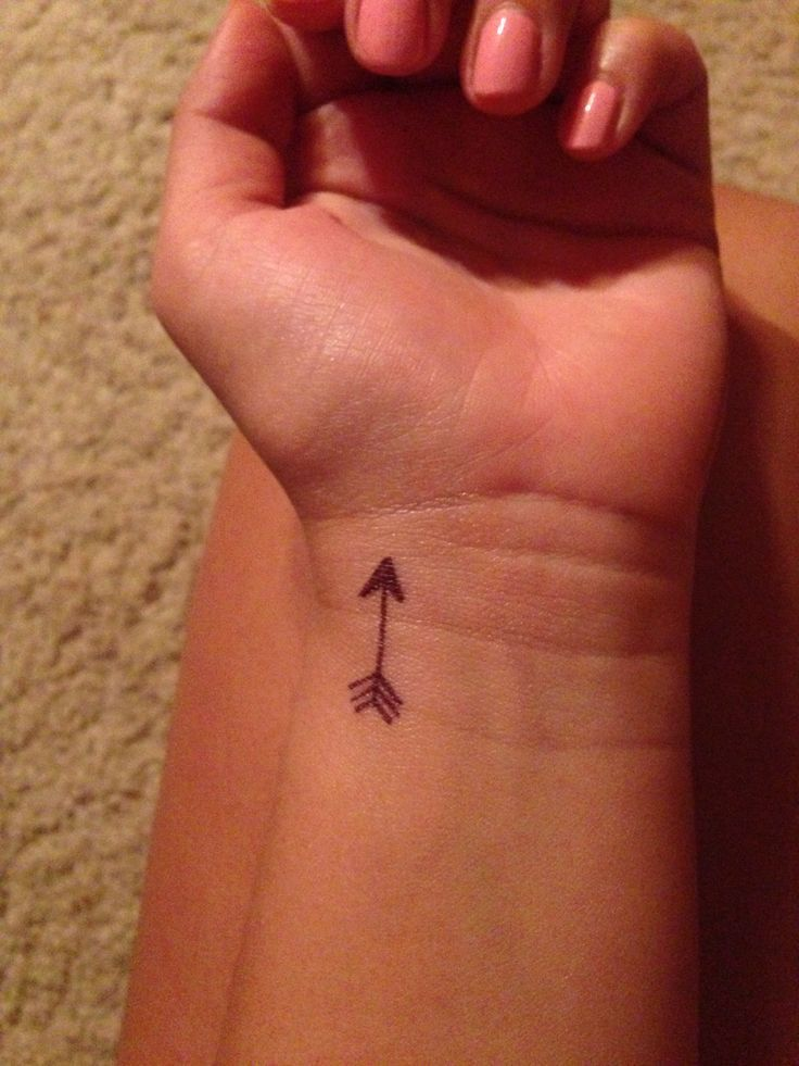 Sharpie temporary tattoo