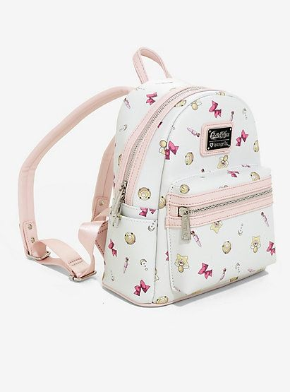 Loungefly Sailor Moon Icons Mini Backpack, , alternate   Want it in ... 2fe8d04b15d