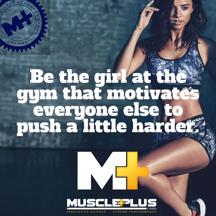 Be the girl at the gym that motivates everyone else to push a little harder.  #whey #protein #isoplus #fitspo #muscle #activeu #build #trainhard #workout #lovetotrain