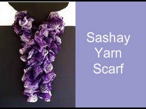 Sashay Yarn Pattern: http://crochetjewel.com/?p=14 Subscribe to my Crochet Jewel You tube channel: https://www.youtube.com/user/amray767 Follow Me: Twitter: ...