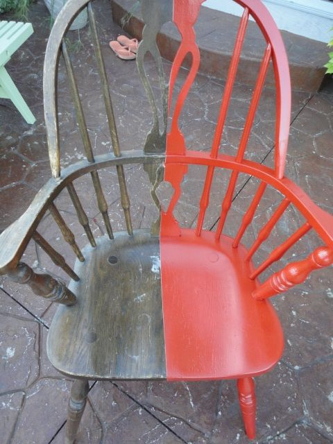 Refinish that old wooden chair...easy