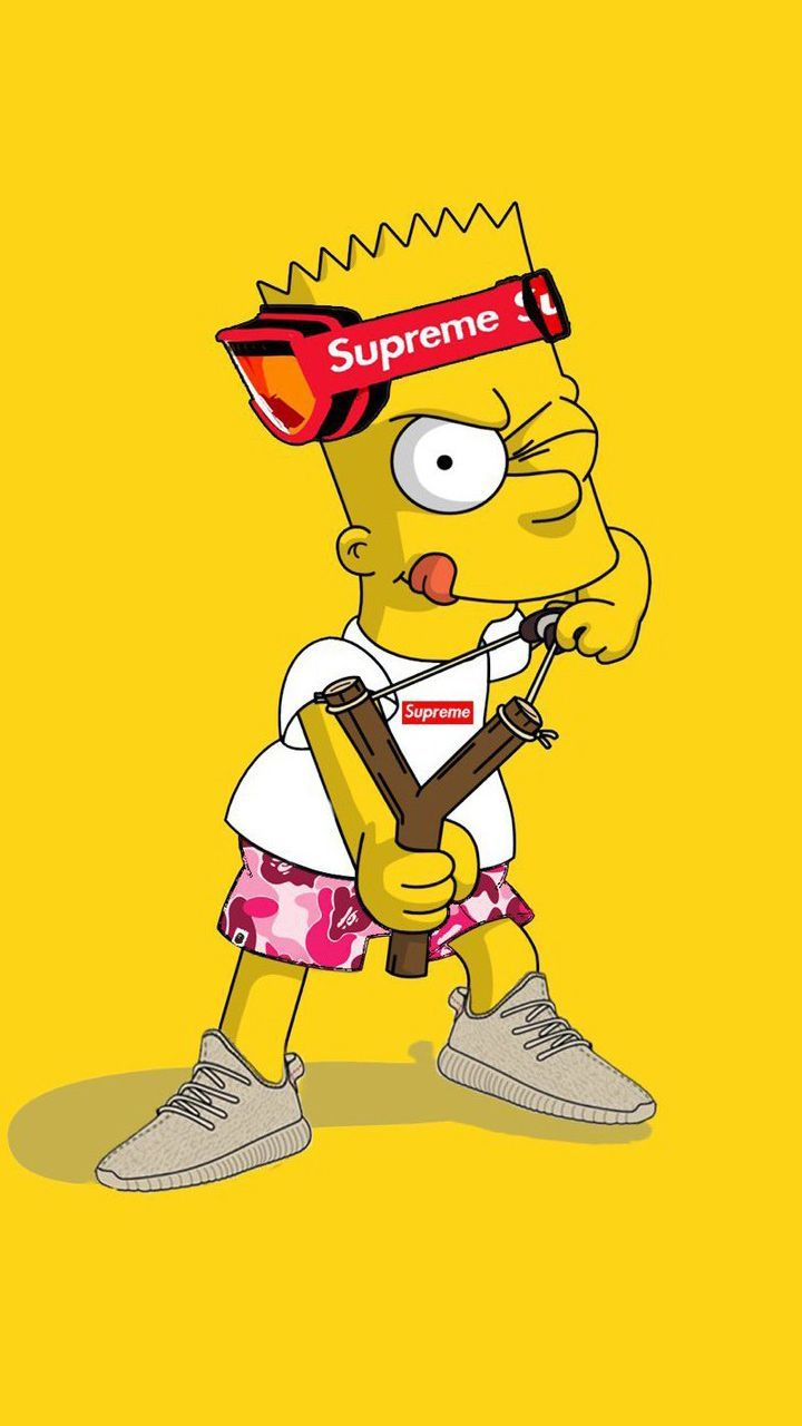Bart Simpson Hd Wallpaper Free Wallpaper For Pc Hd In 2020 Bart Simpson Art Simpson Wallpaper Iphone Simpsons Drawings