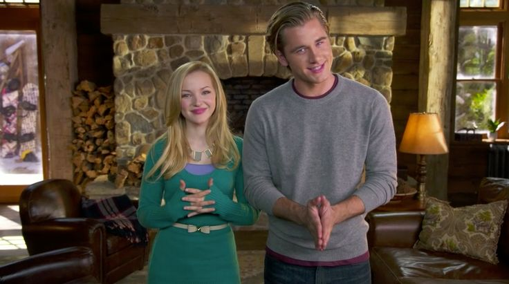 You could win a snowboard signed by Dove Cameron and Luke Benward! http://di.sn/pOI