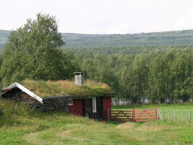 Seterhus, Vangrøftdalen, Os, Hedmark.