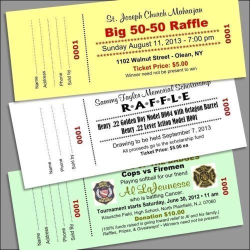 Best 25+ Custom raffle tickets ideas on Pinterest Raffle tickets - make your own tickets template