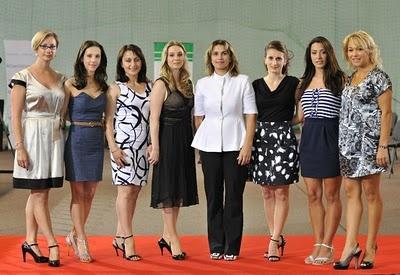 Romanian gymnastics idols from the 90's to present: Maria Olaru, Andreea Raducan, Gina Gogean, Simona Amanar, Lavinia Milosovic, Claudia Presecan, Catalina Ponor, Monica Rosu.