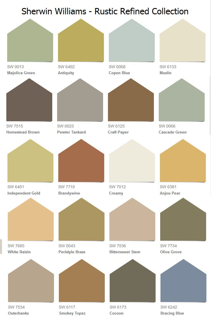 sherwin williams rustic refined collection considering brandywine or smokey topaz for my. Black Bedroom Furniture Sets. Home Design Ideas