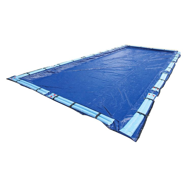 Blue Wave Gold 15-Year 20-ft x 44-ft Rect. In-Ground Pool Winter Cover,