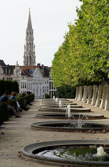 Albertine-Park, Brussels, Belgium