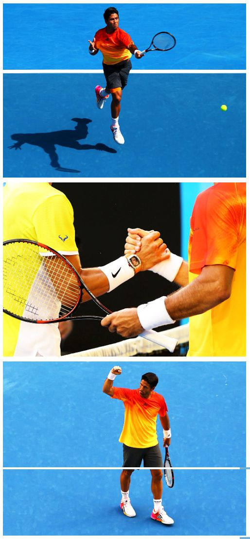 Australian Open 2016 R1 - Fernando Verdasco beats Rafael Nadal in five sets | Get his look here: http://www.tennis-warehouse.com/player.html?ccode=FVERDASCO
