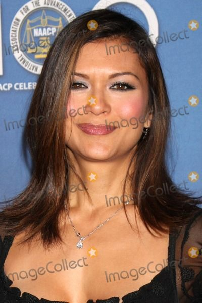 Nia Peeples   arriving at the NAACP Luncheon  at the Beverly Hills Hotel in…