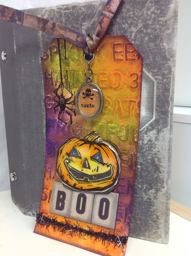 The Journey Awakens the Soul...: 12 Tags of 2014 October Tim Holtz....and then some...