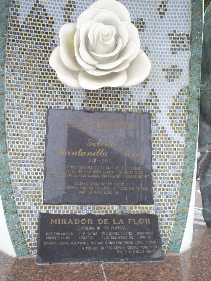 Selena's Statue in Corpus Christi, TX | I love this city ...