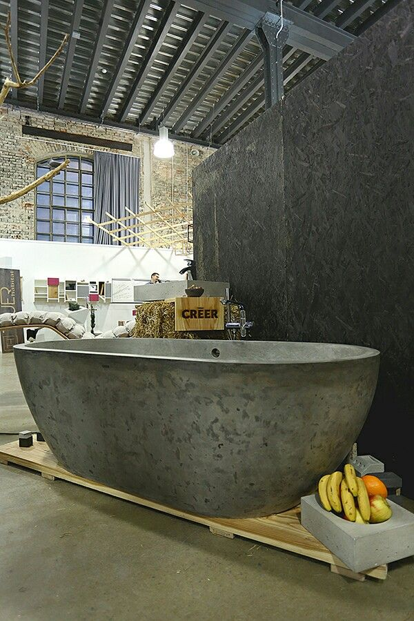 concrete bathtub http./www.creer.cz