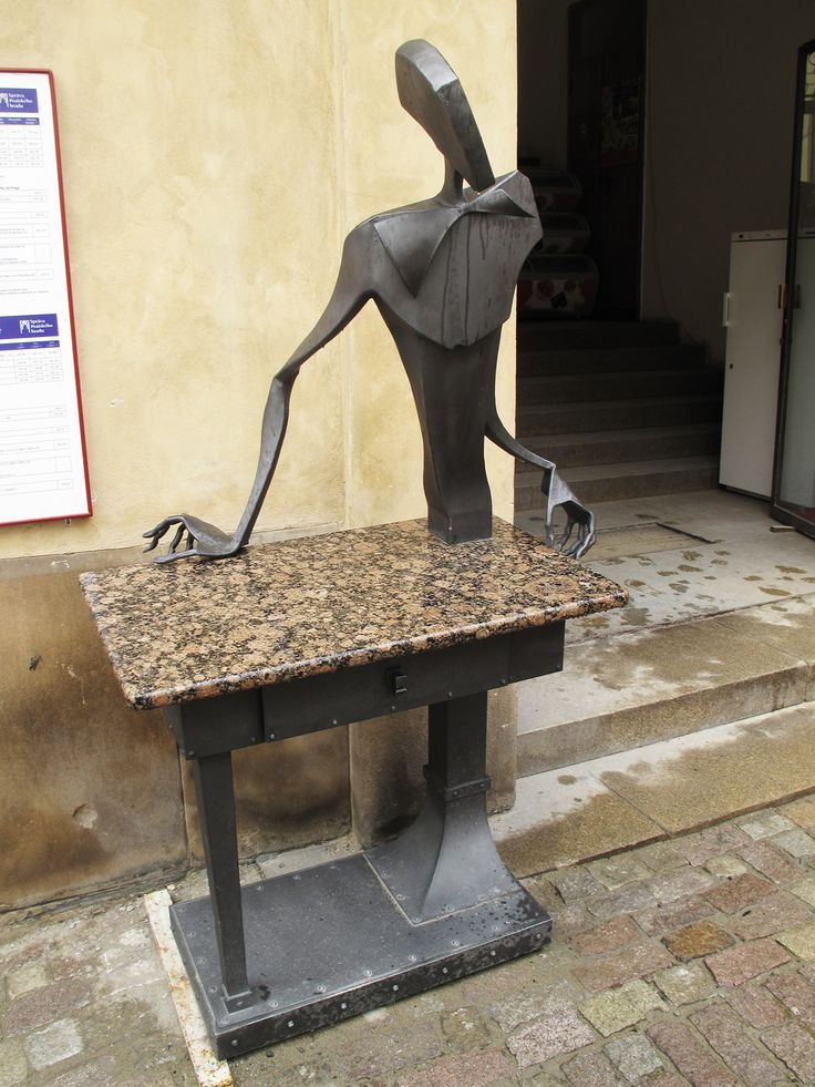 Cubism Sculpture, Prague Castle, Prague, 2011