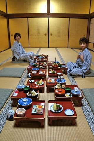 For everything you need to know about #Japan, read my #travel blog where I ate my way around Kyoto, Hiroshima, Miyajima, Mount Koya, Tokyo, Hakone and Osaka. It's filled with pictures, anecdotes, ryokans, temples, people, #history and #food. This image was of a traditional #kaiseki banquet, prepared by monks!
