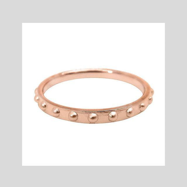 MINI BALL ETERNITY RING #sterlingsilver #gold #rosegold Shop now by following the link in bio or check out the full range at correyandlyon.com.au