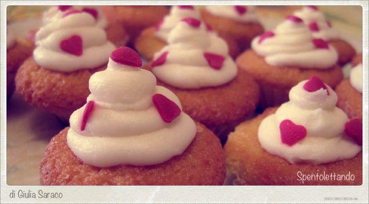 Cupcake #hearts #valentinesday #spentolettando