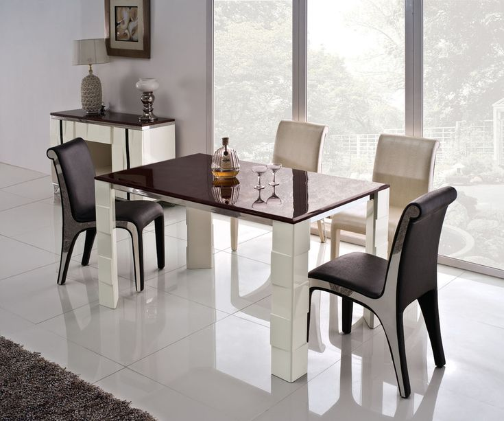 How To Choose Your Dining Room Table? Modern Dining Room SetsModern ...