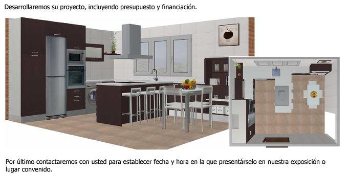 Presupuesto Muebles Cocina: Cocinas integrales muebles para cocina alacenas e...
