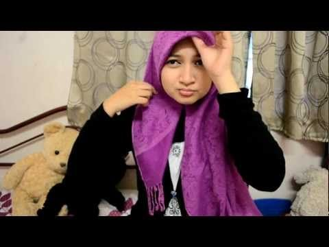 Pashmina tutorial (covering chest) AT LAST! for dinner