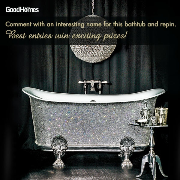 Repin and give us an interesting name for this bathroom concept to win exciting prizes!