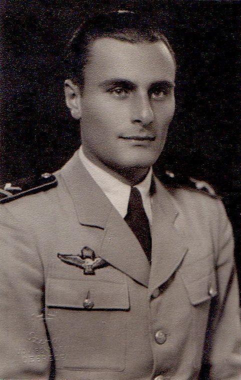 Gersy Tamás hivatásos repülő hadnagy