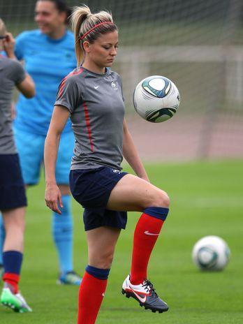 Laure Boulleau (FRA) - futebol  Foto: Getty Images.#JORGENCA