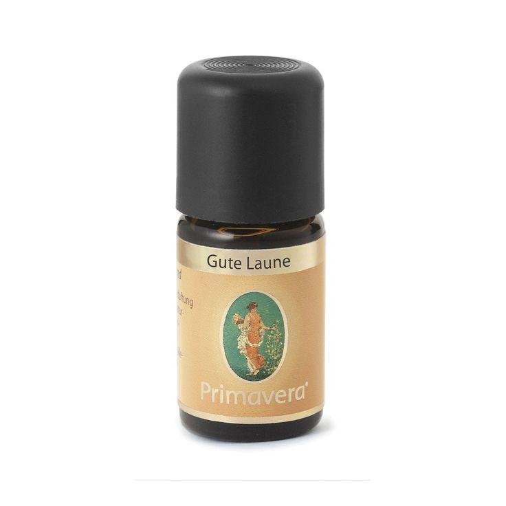 Primavera   Ätherisches Öl 'Gute Laune' belebend motivierend 5ml 6,90€ (Primavera ua @Budni)