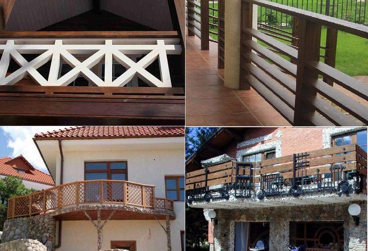 ограждение балконов из дерева - Поиск в Google