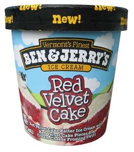 Red Velvet Cake Ben and Jerry's...