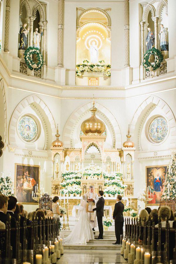 gorgeous church ceremony | Trent Bailey #wedding