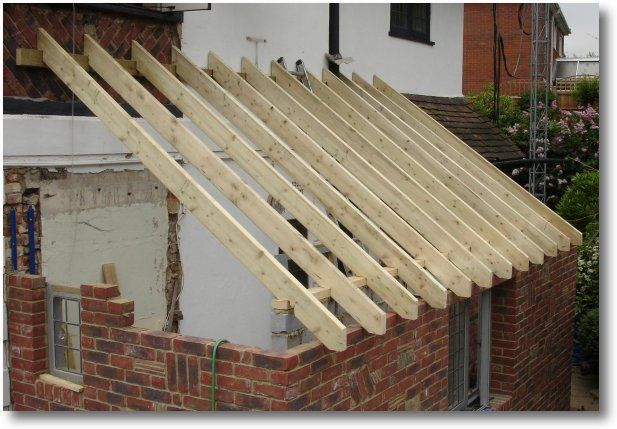 How To Build A Open Lean To With Sloped Roof Attached To