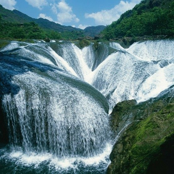 Pearl Waterfall . China
