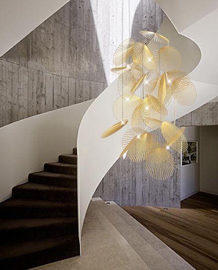 'Leaf', soon to join Heathfield & Co's bespoke light installations - Heathfield & Co