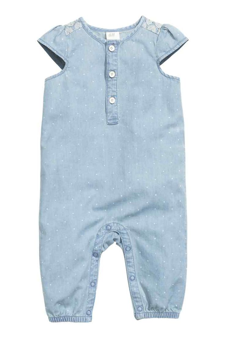 Denim romper suit | H&M