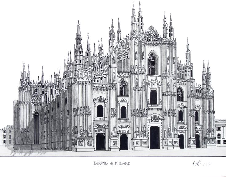Pencil Drawings Of Buildings Famous Historic Buildings Cathedrals